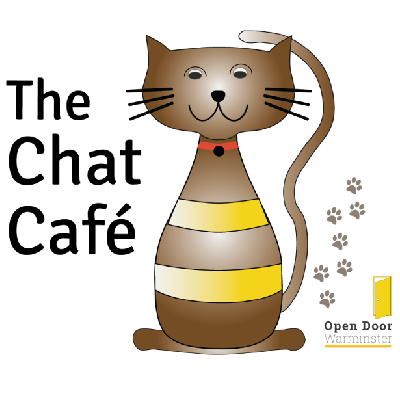 Branding & Publication design for voluntary group Open Door Warminster and The Chat Café